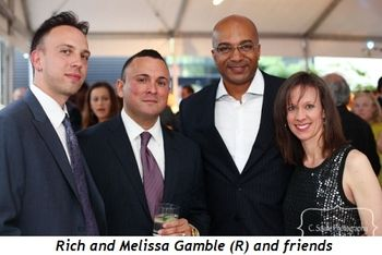 Blog 7 - Rich and Melissa Gamble (R) and friends