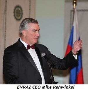 Blog 6 - EVRAZ CEO Mike Rehwinkel