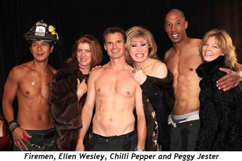 Blog 2 - Firemen, Ellen Wesley, Chili Pepper and Peggy Jester