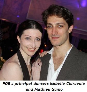 Blog 3 - POB's principal dancers Isabelle Ciaravola and Mathieu Ganio