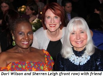Blog 9 - Dori Wilson and Sherren Leigh with friend (top)