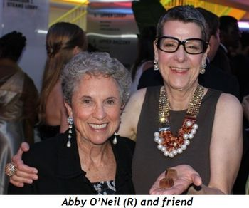 Abby O'Neil (R) and friend