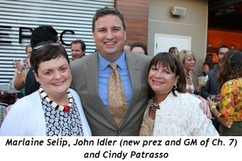 Blog 2 - Marlaine Selip, John Idler (new Prez and GM Ch. 7) and Cindy Patrasso