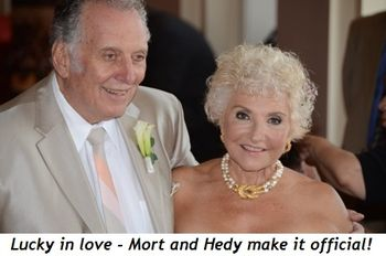 Blog 1 - Lucky in love—Hedy and Mort make it official!