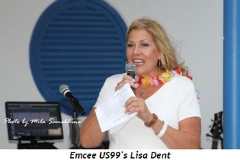 Blog 3 - Emcee US99's Lisa Dent