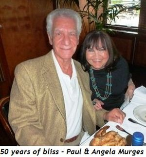 Blog 1 - 50 years of bliss - Paul and Angela Murges