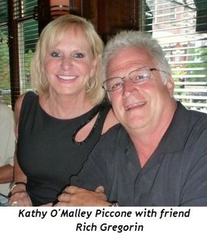 Blog 4 - Kathy O'Malley Piccone and friend Rich Gregorin