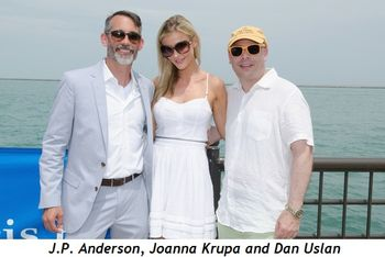 Blog 1 - J.P. Anderson, Joanna Krupa and Dan Uslan