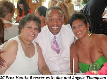 Blog 6 - SC Prez Vonita Reescer with Abe and Angela Thompson