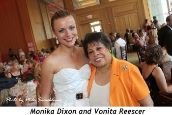 Blog 11 - Monika Dixon and SC President Vonita Reescer
