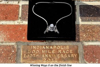 Blog 2 - Winning Ways II on finish line