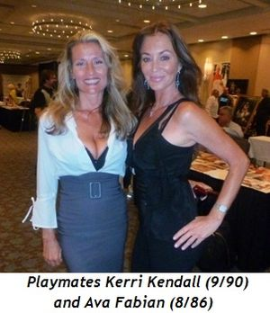 Blog 5 - Playmates Kerry Kendall (9-90) and Ava Fabian (8-86)