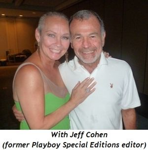 Blog 9 - With Jeff Cohen (former Playboy Special Editions Editor)