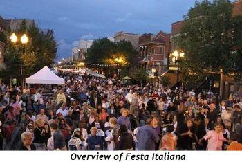 Blog 1 - Overview of Festa Italiana