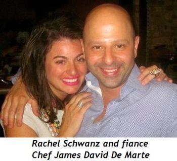 Blog 1 - Rachel Schwanz and fiancé Chef James David De Marte
