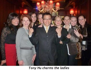Blog 1 - Tony Hu charms the ladies