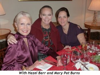 Blog 4 - With Hazel Barr and Mary Pat Burns