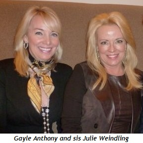 Blog 1 - Gayle Anthony and sis Julie Weindling
