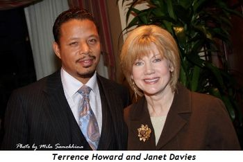 Blog 15 - Terrence Howard and Janet Davies