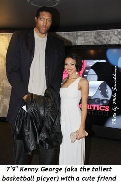 "Blog 17 - 7'9"" Kenny George, the tallest basketball player, with cute friend"