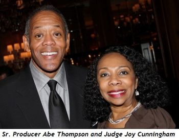 Blog 8 - Sr. Producer Abe Thompson with wife Angela