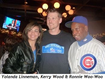Blog 1 - Yolanda Linneman, Kerry Wood and fan Ronnie Woo Woo