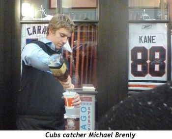 Blog 4 - Cubs catcher Michael Brenly