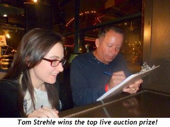 Blog 14 - Thomas Strehle wins the top live auction prize