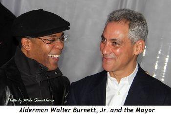Blog 3 - Alderman Walter Burnett and the Mayor