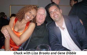 Blog 6 - Chuck between Liza Brooks and Gene Dibble