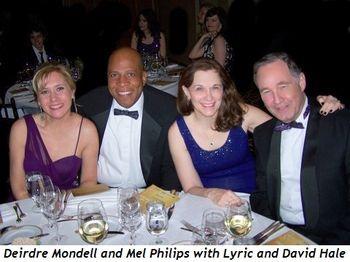 Blog 8 - Deirdre Mondell, Mel Philips, Lyric and David Hale