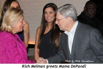 Blog 18 - Rich Melman greets Mama DePandi
