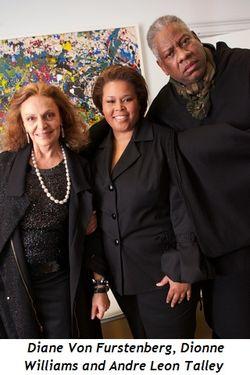 Blog 1 - Diane Von Furstenberg , Dionne Williams, Andre Leon Talley