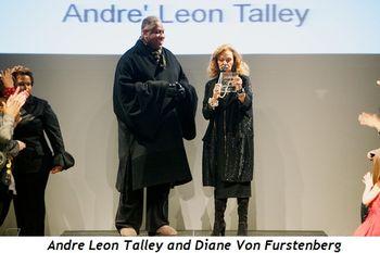 Blog 3 -  Andre Leon Talley and Diane Von Furstenberg
