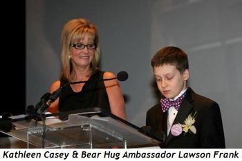 Blog 2 - Kathleen Casey and Bear Hug Ambassador Lawson Frank