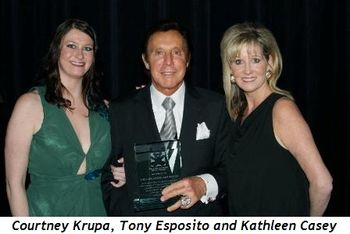 Blog 4 - Courtney Krupa, Tony Esposito and founder Kathleen Casey