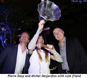 Blog 7 - Pierre Desy and Michel Desjardins with cute friend