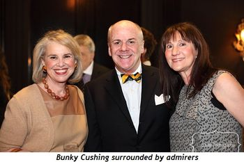 Blog 6 - Bunky Cushing surrounded by admirers
