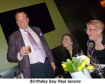 Blog 1 - Birthday boy Paul Iacono