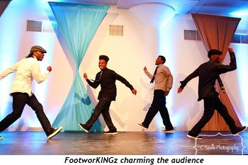 Blog 12 - FootworKINGz charming the audience