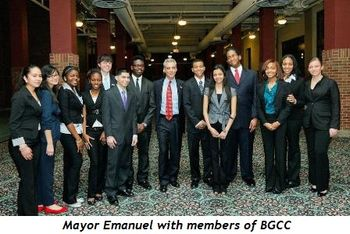 Blog 5 - Mayor with members of BGCC