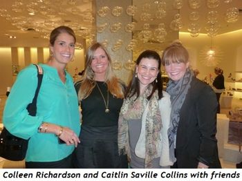 Blog 5 - Caitlin Saville Collins (2nd from R) and friends