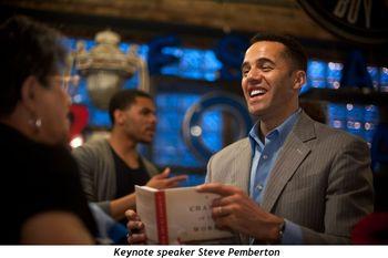 Blog 1 - Keynote speaker Steve Pemberton