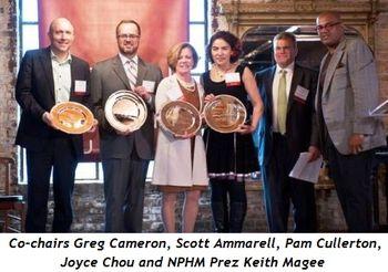 Blog 3 - Co-chairs Greg Cameron, Scott Ammarell, Pam Cullerton, Joyce Chou, NPHM Prez Keith Magee