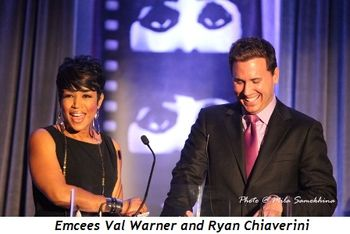 Blog 3 - Emcees Val Warner and Ryan Chiaverini