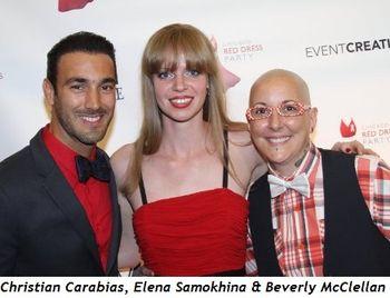 Blog 5 - Christian Carabias, Elena Samokhina and Beverly McClellan