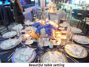 Blog 7 - Beautiful table setting