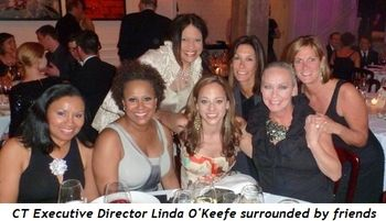 Blog 1 - CT Executive Director Linda O'Keefe surrounded by friends