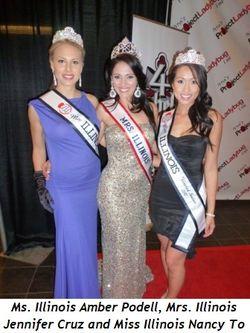 Blog 4 - Ms. Ill. Amber Podell, Mrs. Ill. Jennifer Cruz and Miss Ill. Nancy To