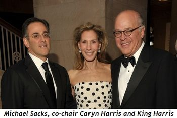 Blog 4 - Michael Sacks, co-chair Caryn Harris and King Harris